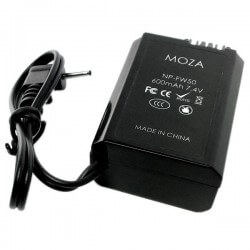 Adapter akumulator GUDSEN MOZA NP-FW50 do SONY