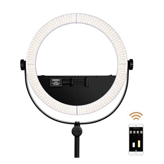 Lampa pierścieniowa LED RING YN-508 3200K-5500K
