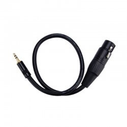 Adapter XLR na Mini-Jack 3.5mm