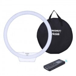 Lampa pierścieniowa LED RING YN-308 5500K-3200K