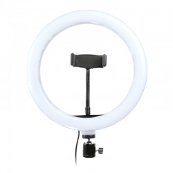 Lampa pierścieniowa LED ring MITOYA YQ-10 26cm USB