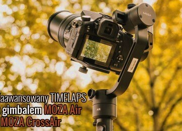 Advanced Motion Timelapse gimbal MOZA Air